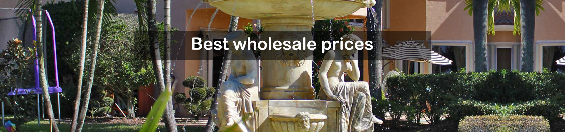 Large Outdoor Fountains with Best Price